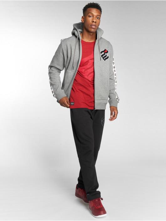 Rocawear Zip Hoodie Stripe grå