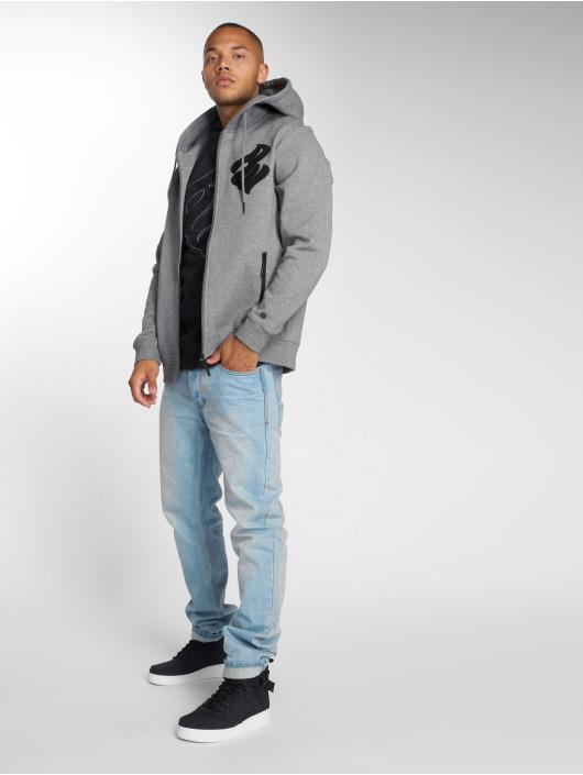 Rocawear Zip Hoodie Logo grå