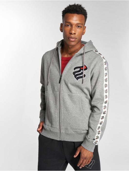 Rocawear Zip Hoodie Stripe grau