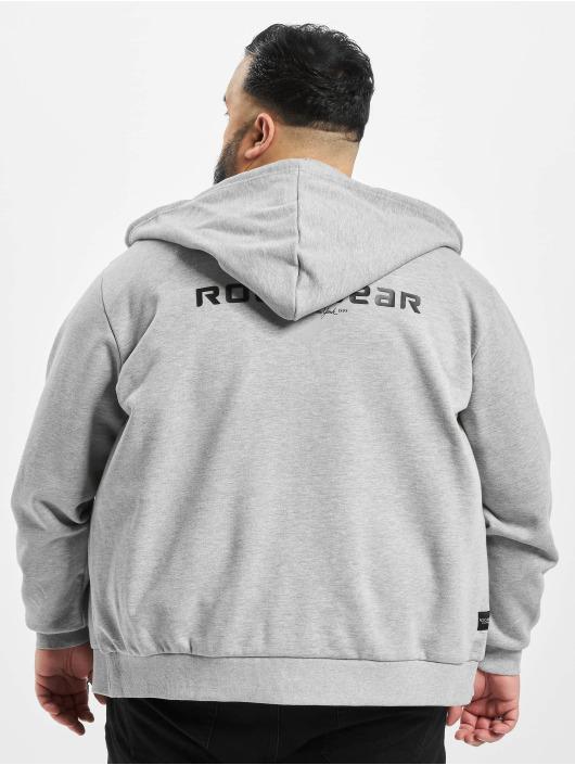 Rocawear Zip Hoodie Big Brand grey
