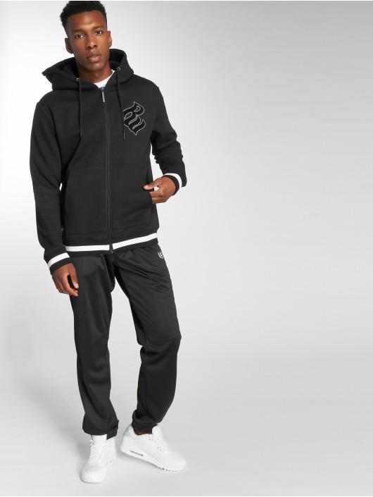 Rocawear Zip Hoodie Logo svart