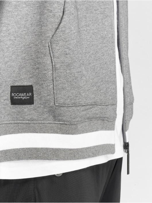 Rocawear Zip Hoodie Logo szary