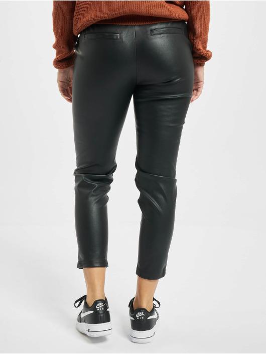 Rock Angel Látkové kalhoty Kayla čern