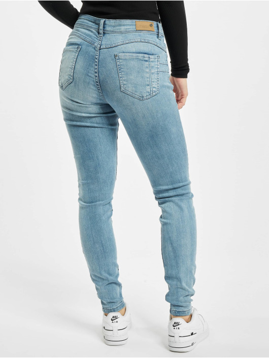 Rock Angel Skinny Jeans Cutton niebieski