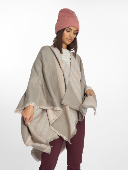 Rock Angel Strickjacke Poncho grau