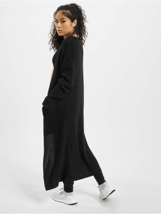 Rock Angel Swetry rozpinane Knit czarny