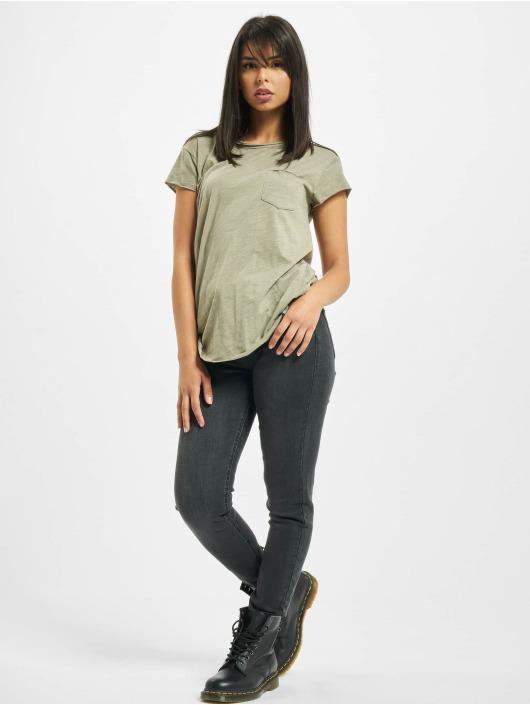 Rock Angel T-shirts Yuna oliven