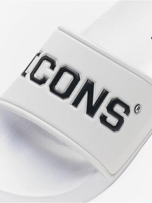 Schlappos Шлёпанцы Icons белый