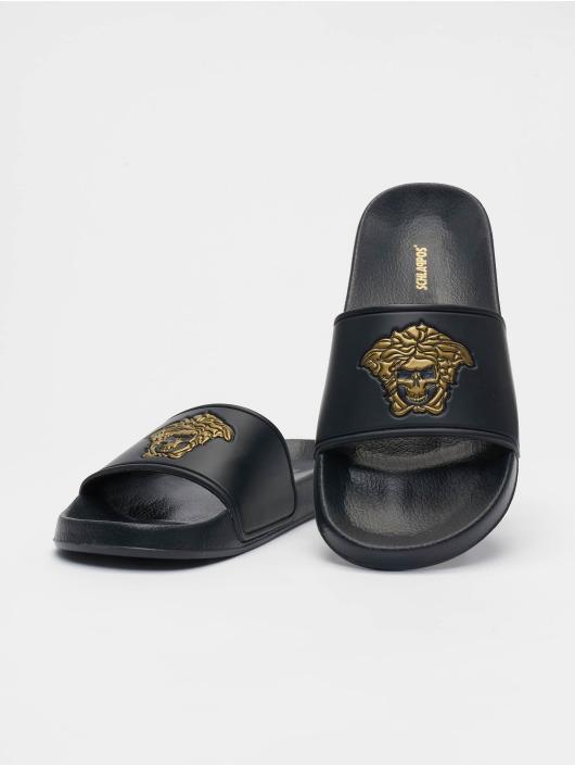 Schlappos Badesko/sandaler Sace Head svart