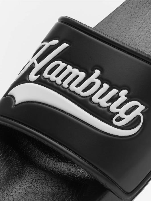 Schlappos Claquettes & Sandales Hamburg City noir