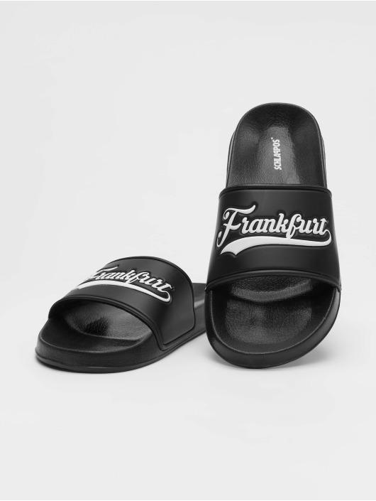 Schlappos Sandals Frankfurt City black