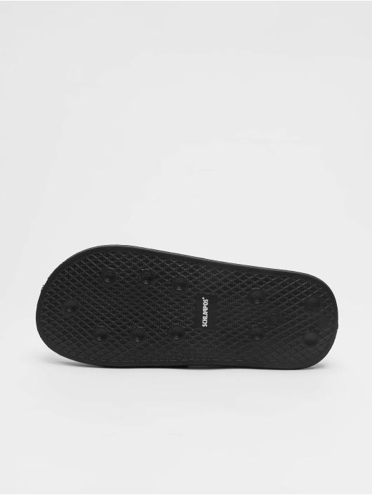 Schlappos Slipper/Sandaal Icons zwart