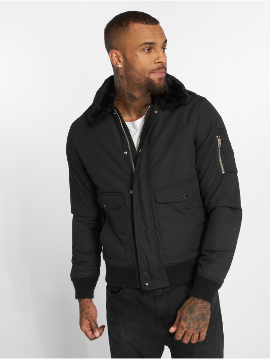 Schott NYC Bomber jacket Air black