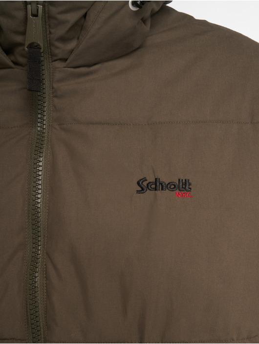 Schott NYC Vinterjakke Jkt Alaska khaki