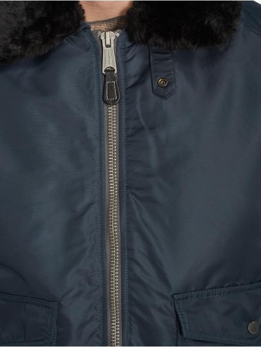 Schott NYC Winter Jacket O'hara blue