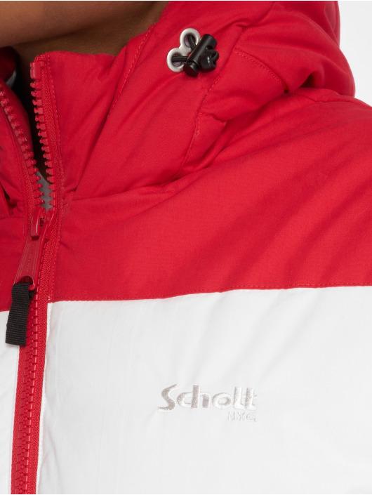 Schott NYC Winterjacke Alaska rot