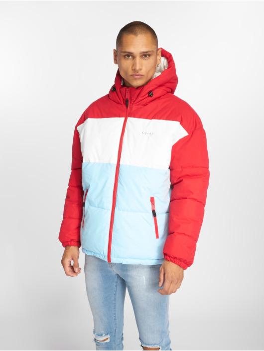 Schott NYC winterjas Alaska rood