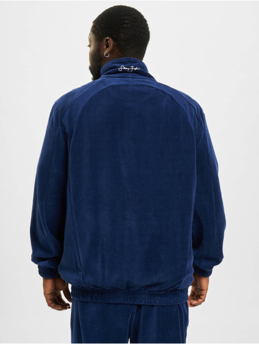 Sean John Демисезонная куртка Classic Logo Essential Velours синий