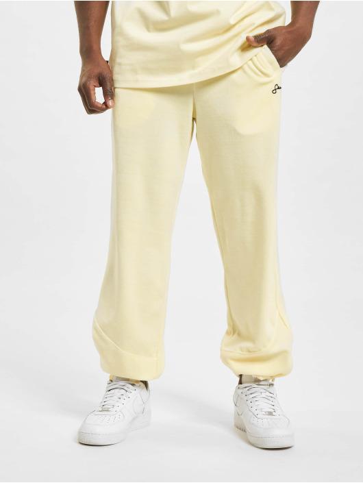Sean John Спортивные брюки Classic Logo Essential Velours бежевый