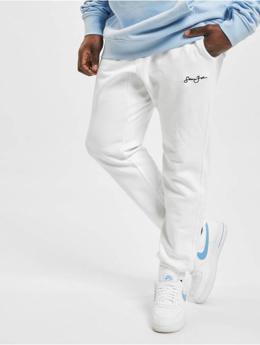 Sean John Спортивные брюки Classic Logo Essential белый