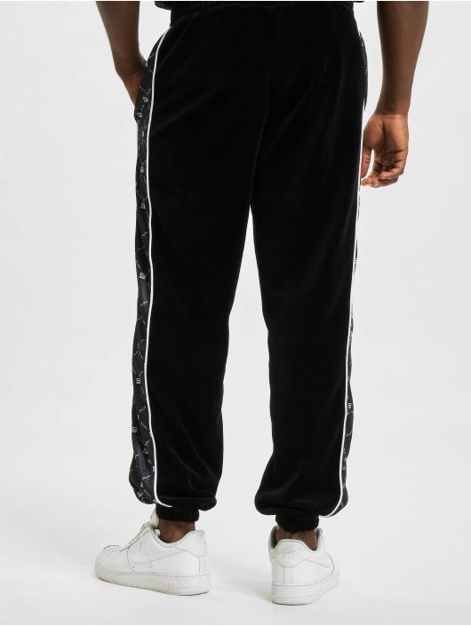 Sean John Спортивные брюки Icon Aop Velours черный