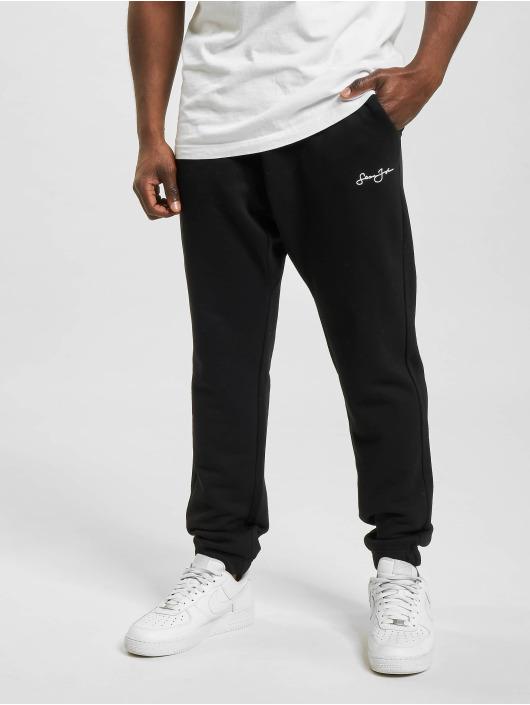 Sean John Спортивные брюки Classic Logo Essential черный