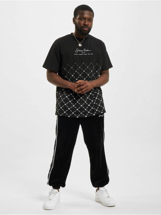 Sean John Jogging Icon Aop Velours noir