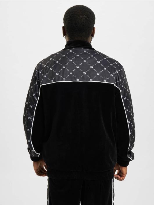 Sean John Lightweight Jacket Icon Aop Velours black