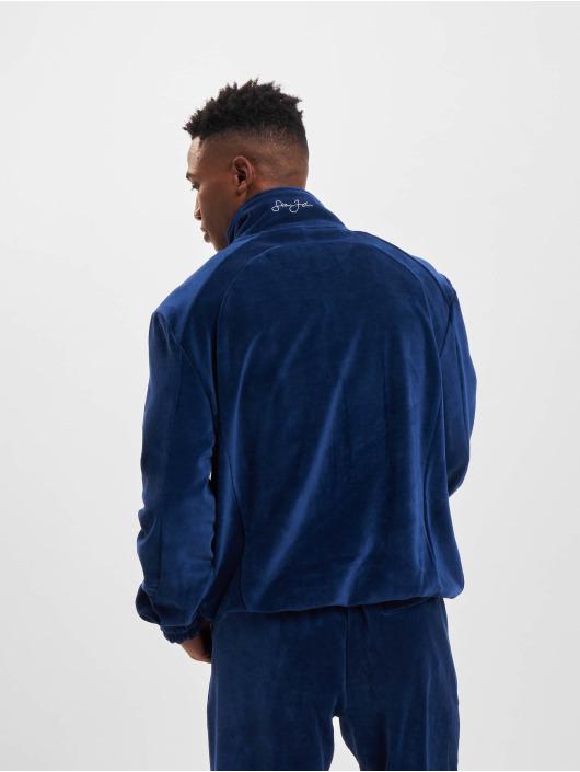 Sean John Prechodné vetrovky Classic Logo Essential Velours modrá