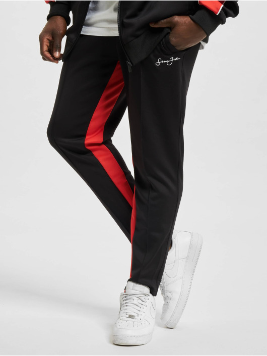 Sean John Spodnie do joggingu Classic Logo Neoprene czarny