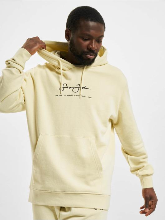 Sean John Sweat capuche Classic Logo Essential beige