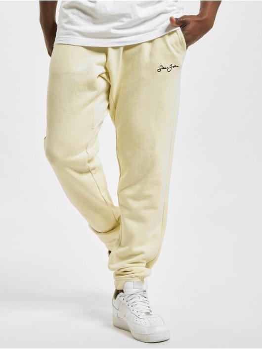 Sean John Sweat Pant Classic Logo Essential beige