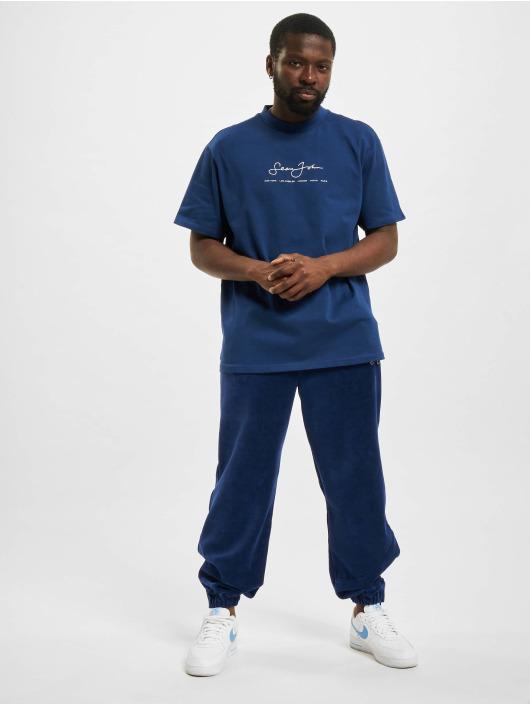 Sean John T-Shirt Classic Logo Essential blau