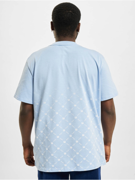 Sean John T-Shirt Classic Logo Aop Gradient blue