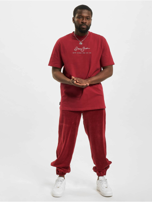 Sean John T-Shirt Classic Logo Essential rouge