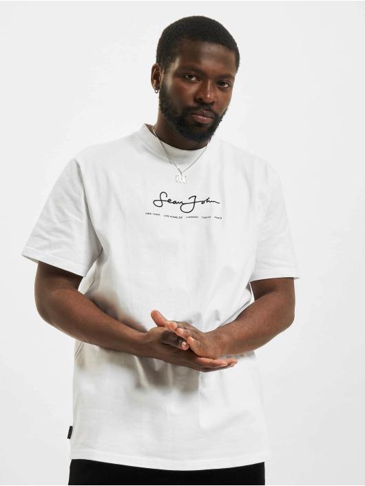 Sean John T-Shirt Classic Logo Essential weiß