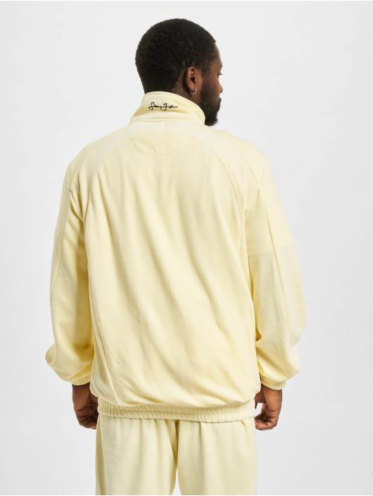Sean John Veste mi-saison légère Classic Logo Essential Velours beige
