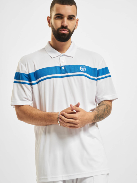 Sergio Tacchini Майка поло Young Line Pro Polo Y/Dyed белый