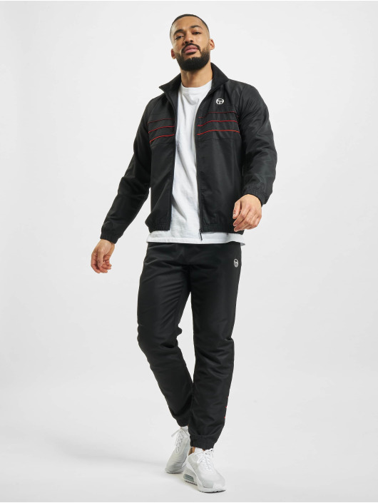 Sergio Tacchini Anzug Amarillis schwarz