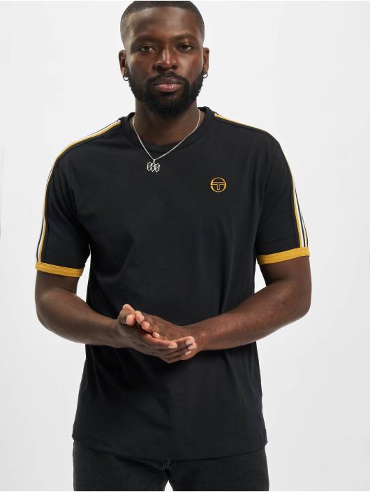 Sergio Tacchini Camiseta Norto negro