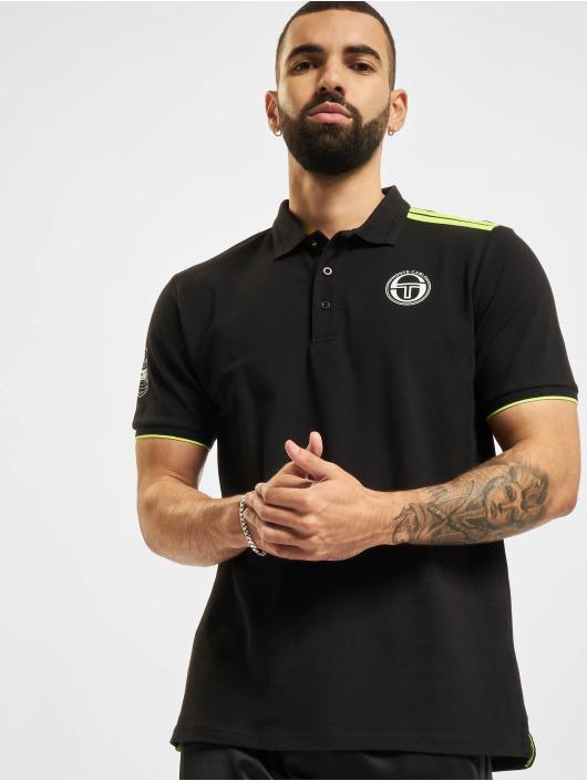 Sergio Tacchini Camiseta polo New Ielin negro