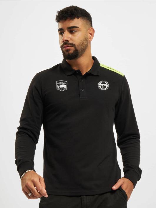 Sergio Tacchini Camiseta polo New Iah negro