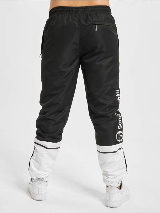 Sergio Tacchini Jogging kalhoty Almond Pl čern