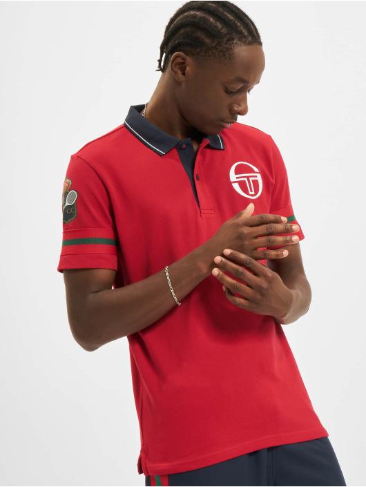 Sergio Tacchini Koszulki Polo Frisco Mc Staff czerwony