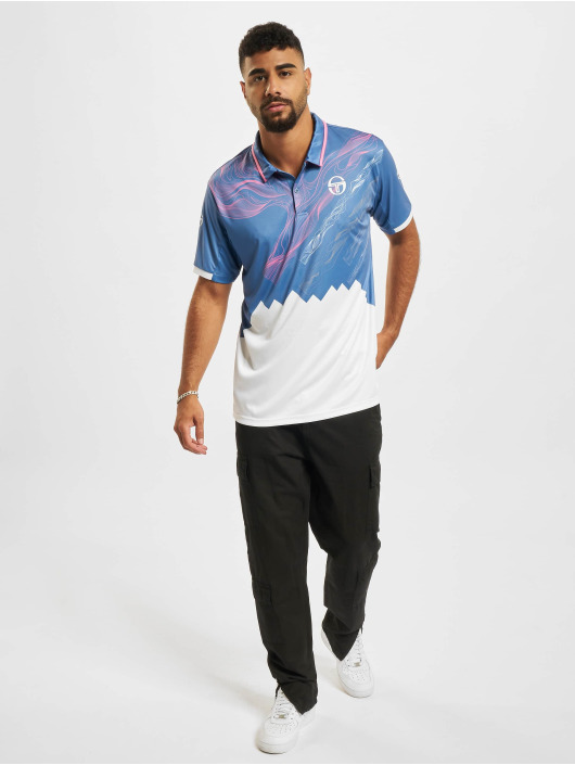 Sergio Tacchini Koszulki Polo Liquify Polo niebieski