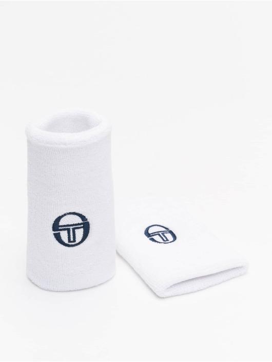 Sergio Tacchini More Tennis Wristband 2 Pack white