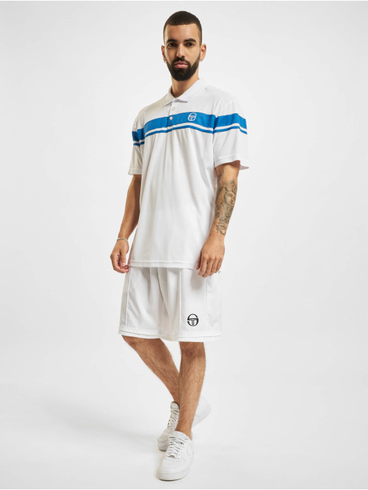 Sergio Tacchini Polo trika Young Line Pro Polo Y/Dyed bílý