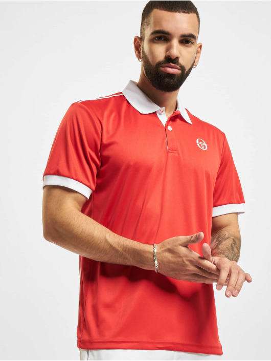 Sergio Tacchini Poloshirt Club Tech red