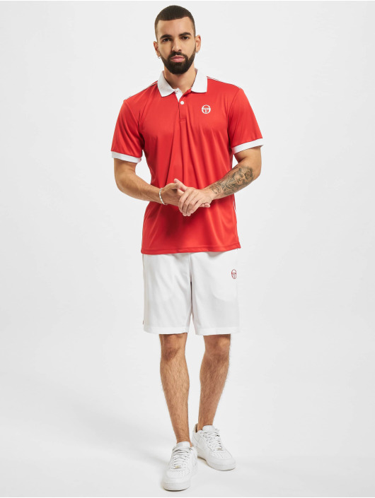 Sergio Tacchini Poloshirt Club Tech rot