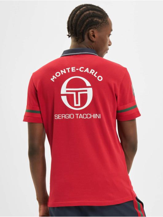 Sergio Tacchini Poloshirt Frisco Mc Staff rot